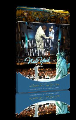 Noche de sanidad y milagros en Nueva York