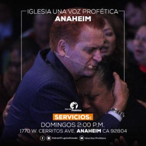 servicios Una Voz Profética cudahy domingo